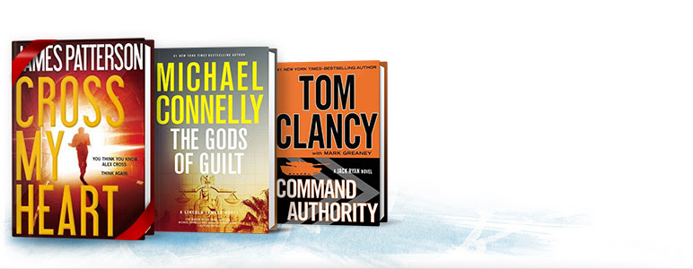 Michael Connelly James Patterson Tom Clancy