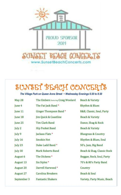 Summer Concerts Ad