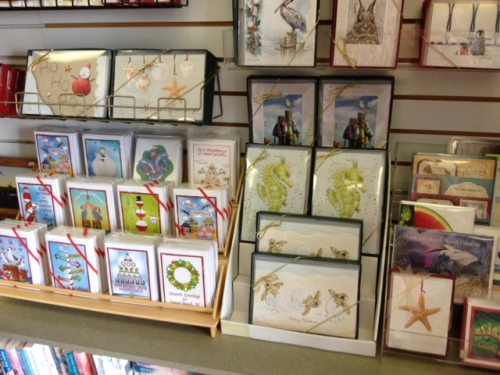 Pelican Bookstore Christmas Cards
