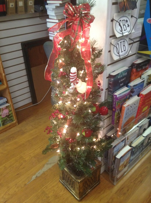 Pelican Bookstore Christmas