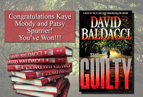David Baldacci Giveaway Winners