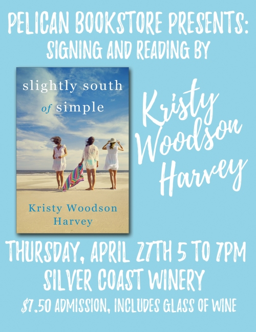 Pelican Bookstore Signing Kristy Harvey Woodson