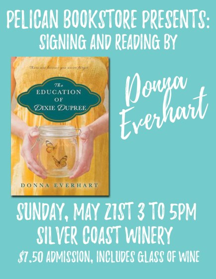 Pelican Bookstore Signing Donna everheart