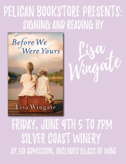 Pelican Bookstore Signing Lisa Wingate