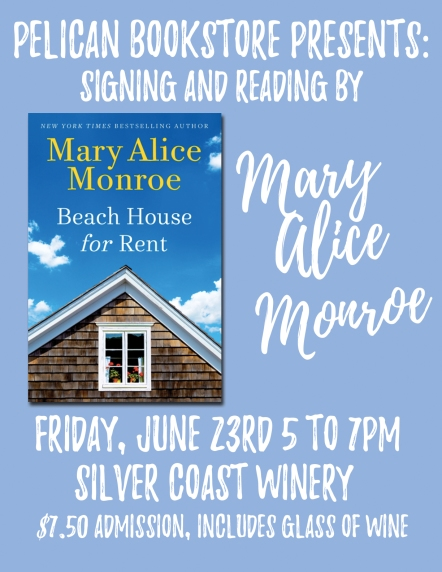 Pelican Bookstore Signing Mary Alice Monroe