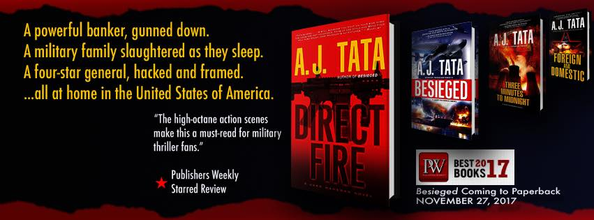AJ Tata Direct Fire Book signing