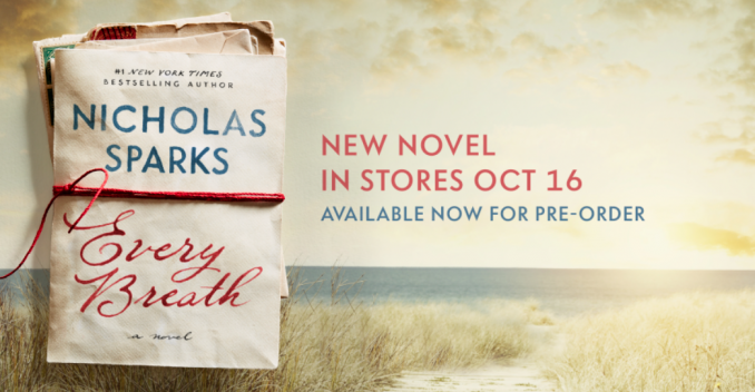 Nicholas Sparks' New Book Set in Sunset Beach
